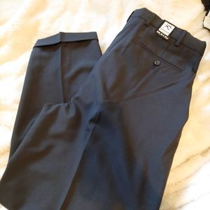 Joseph A Bank gray black golf pants size 38 x 22.